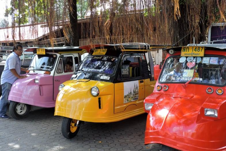 Cómo organizar la excursión de un día a Ayutthaya