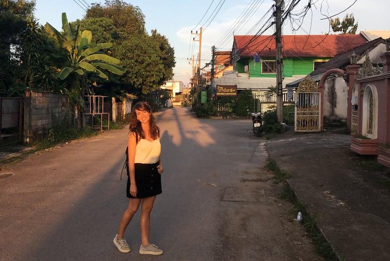 Calles de Chiang Rai