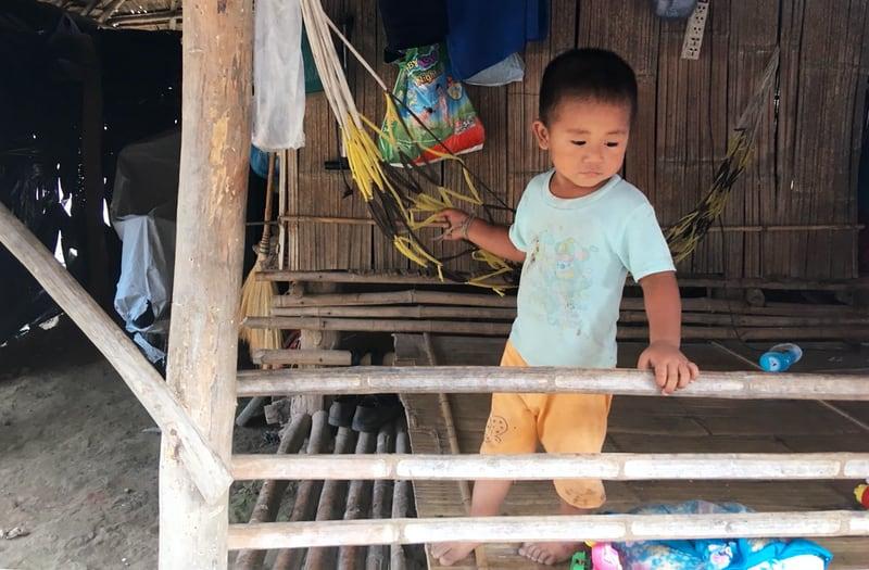 Chiang Rai poblado mujeres jirafa
