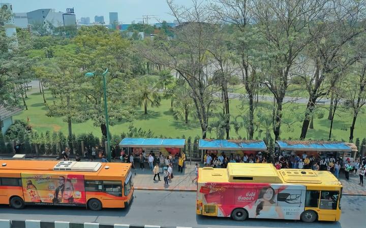 Autobuses de Bangkok