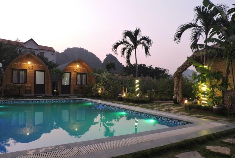 Hotel en Ninh Binh Tam Coc Village Bungalow
