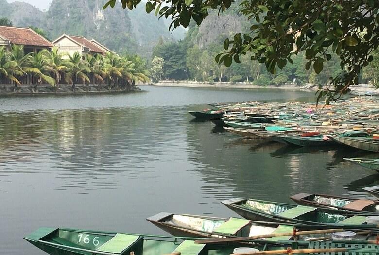 Embarcadero de Tam Coc