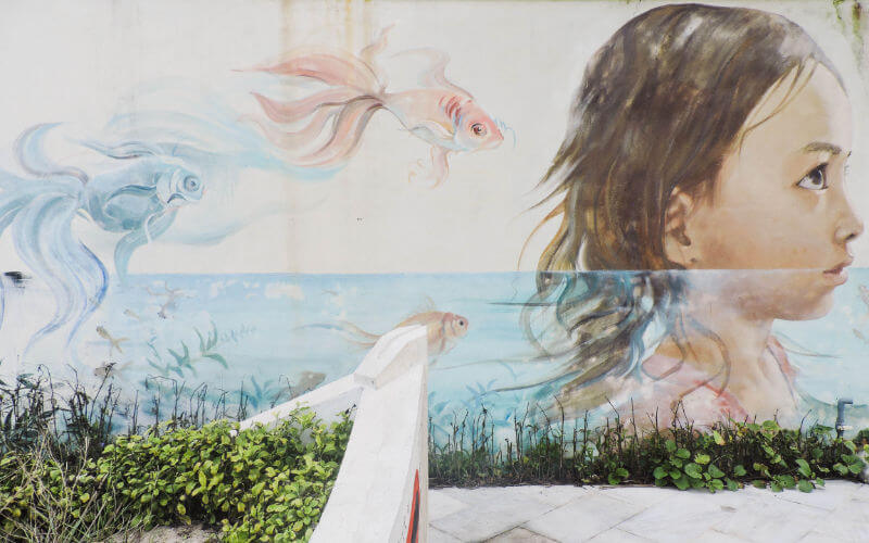 Tam Thanh murales