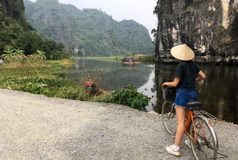 Paseo en bici por los alrededores de Tam Coc