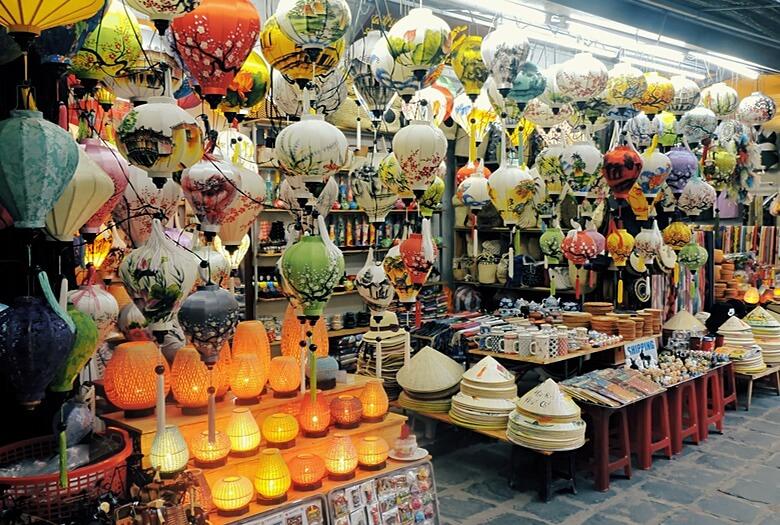 Mercados de la ciudad de Hoi An