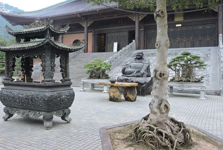 Templo del complejo Bai Dinh