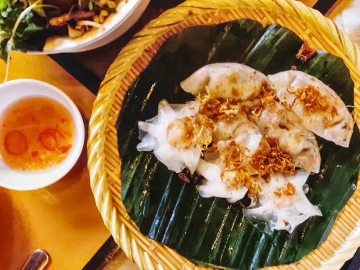 White Roses gastronomía de Hoi An
