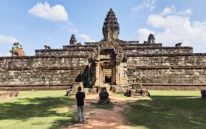 Bakong templos de Roluos