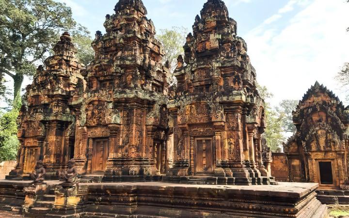 Templos cerca de Siem Reap