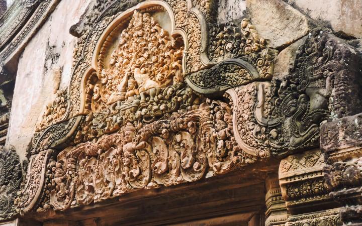 Puerta Banteay Srei