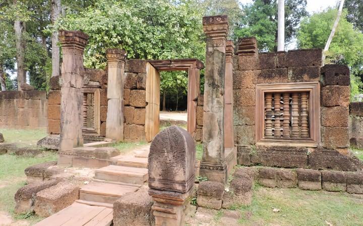 Banteay Srei, templo en los alrededores de Angkor