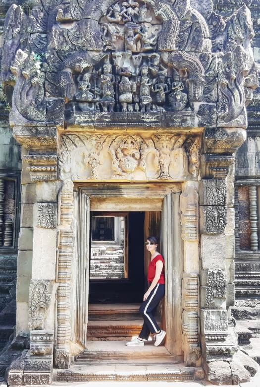 Puerta del templo Banteay Samre