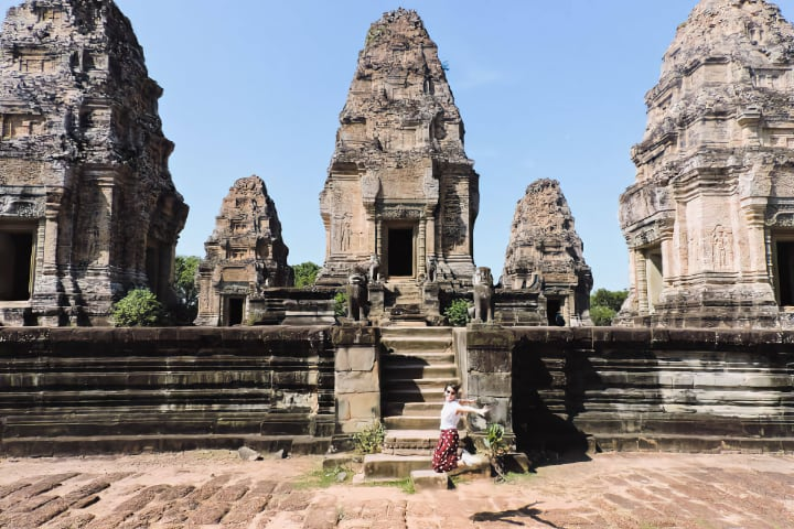 Templo East Mebon del circuito largo de Angkor