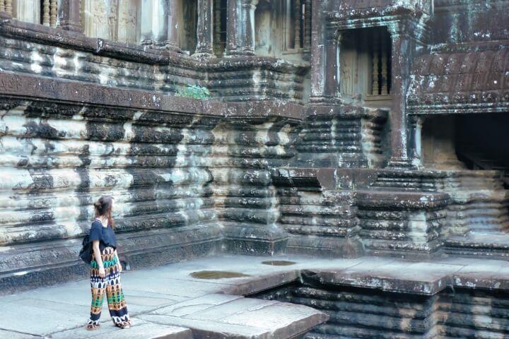 Escaleras Angkor Wat