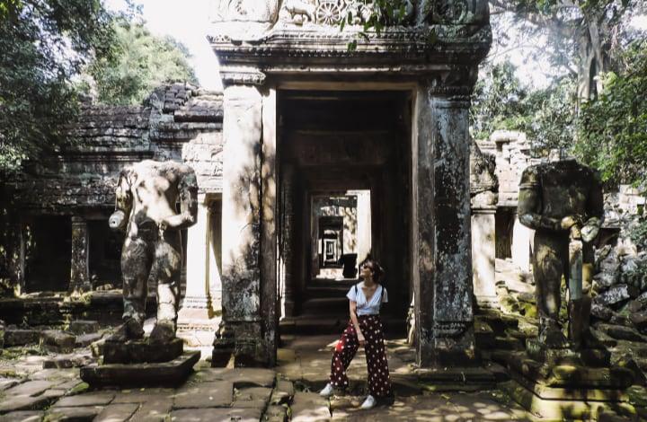 Templo Preah Khan del circuito largo de Angkor