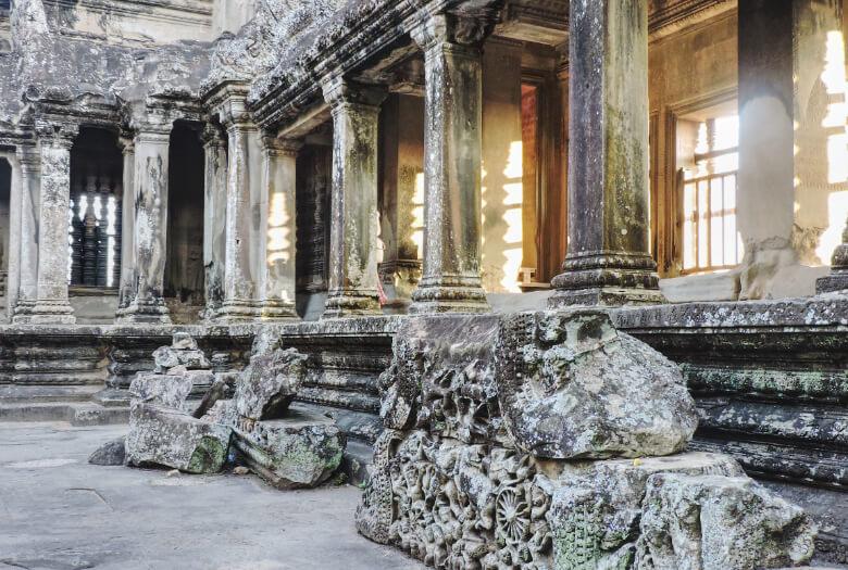 Patio de Bakan en Angkor Wat