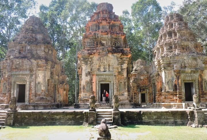 Preah Ko templos de Roluos