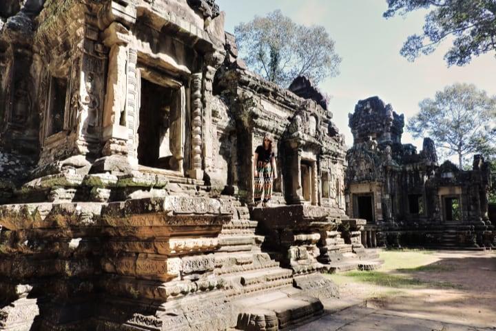 Templos Thommanom y Chau Say Thevoda