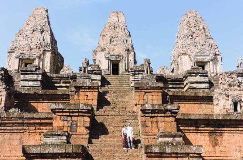 Templo Pre Rup en nuestra guía para 2 días de los templos de Angkor