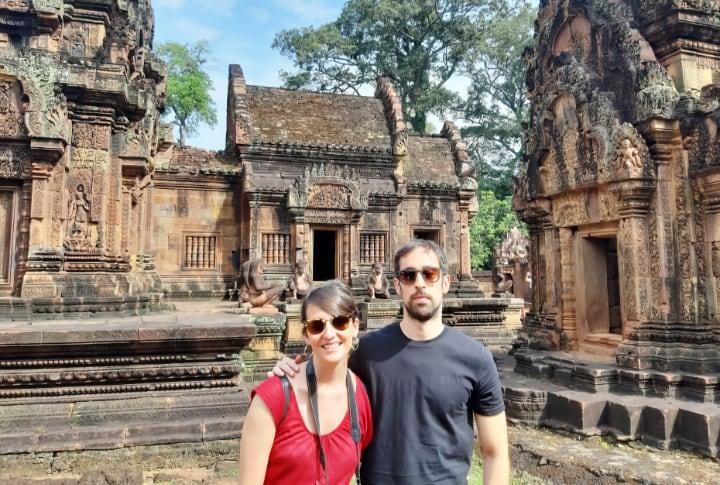 Templo cerca de Angkor, Banteay Srei