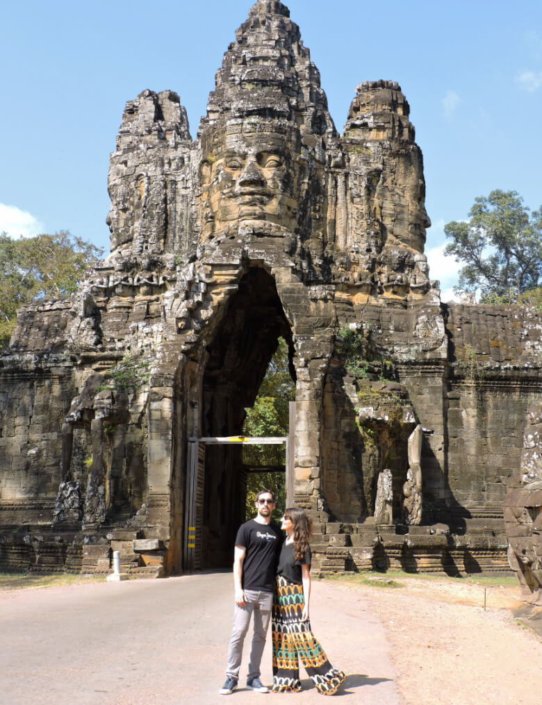 South Gate en Angkor Thom