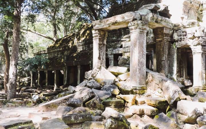 Ruinas del templo Ta Prohm