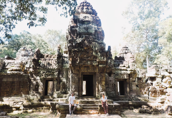 Templo Ta Som del circuito largo de Angkor