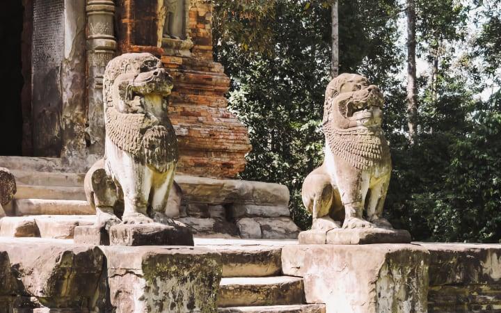 Templos de Roluos en los alrededores de Angkor