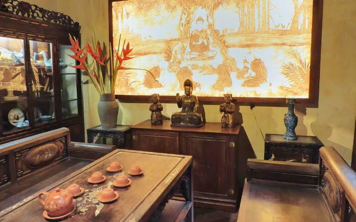 Casa patrimonial típica de Hanói