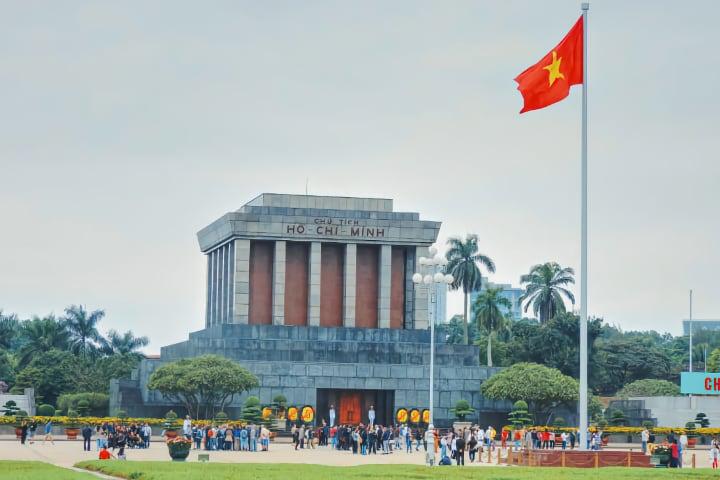 Mausoleo Ho Chi Ming en Hanói