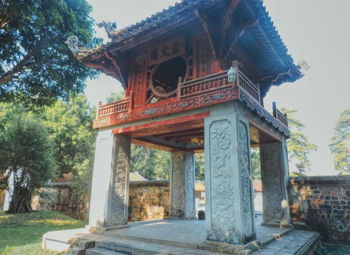 Templo de la literatura Hanói
