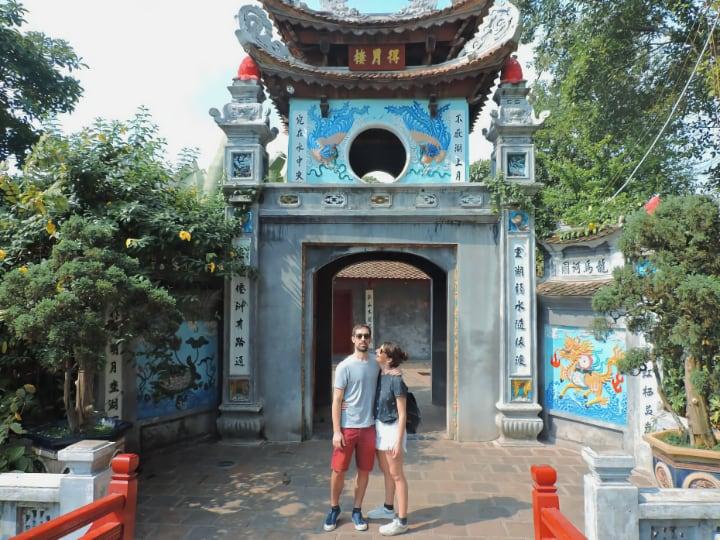 Ngoc Son, el templo de la montaña de Jade
