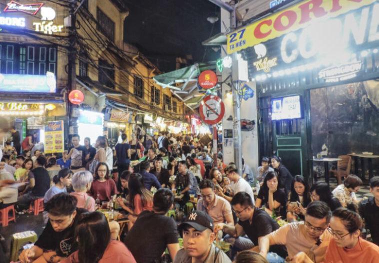 Bia Hoi corner Hanói