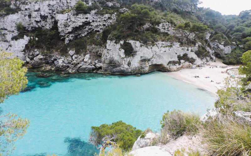 Macarelleta en Menorca
