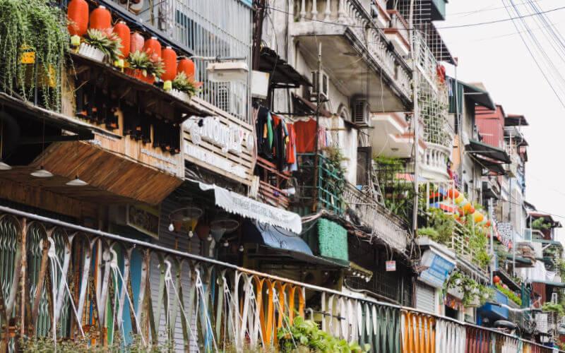 Zonas donde alojarte en Hanói
