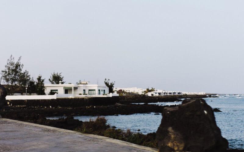 Arrieta, pequeño pueblo de Lanzarote