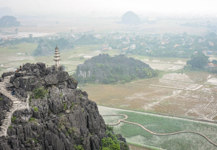 Vistas de la provincia de Ninh Binh
