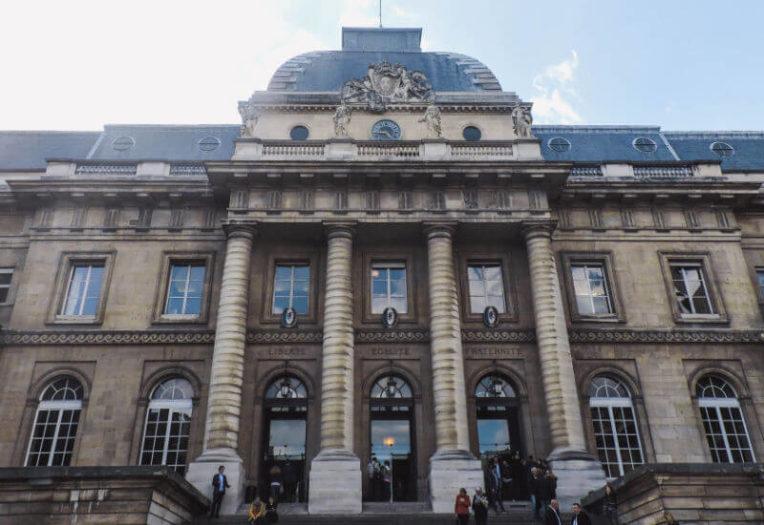 Palacio de la Justicia en la Isla de la Cité