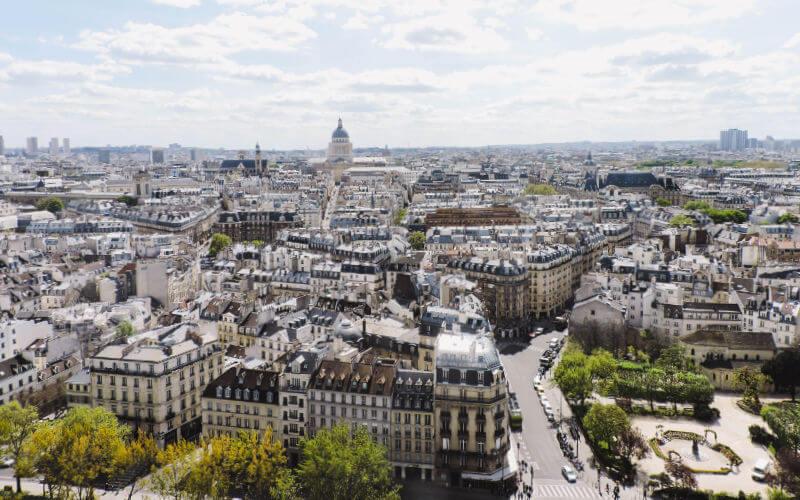 Donde alojarte en París