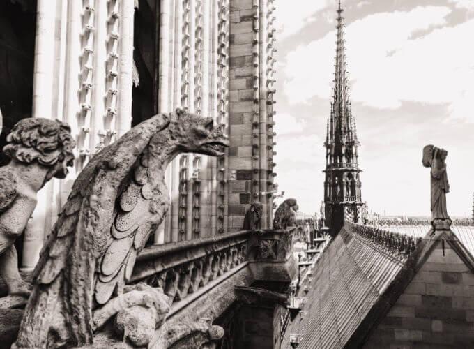 Gargola de Notre Dame