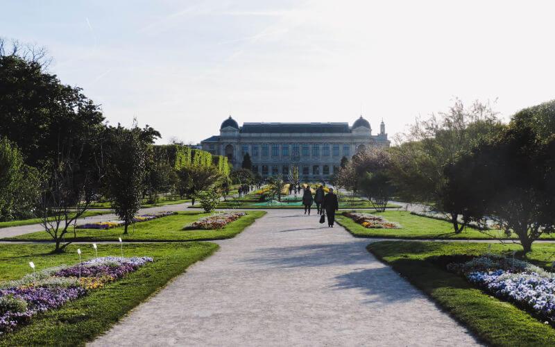 Jardín de las plantas en París