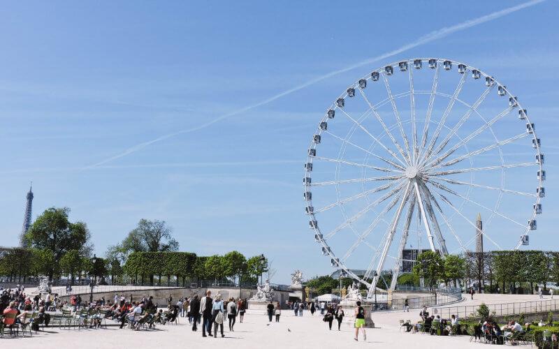 Donde comer mientras ves París