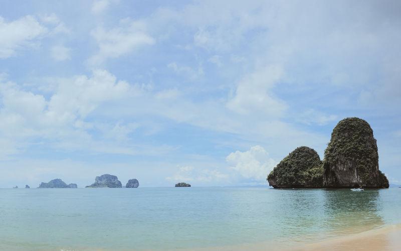 4 islas locales de Krabi