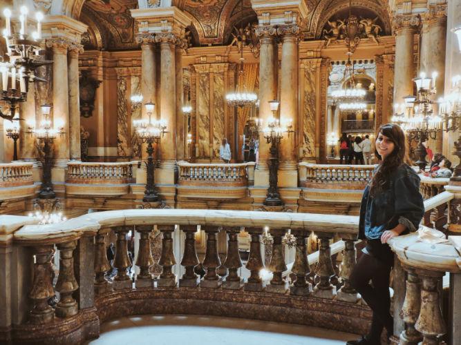Interior de la Opera Garnier