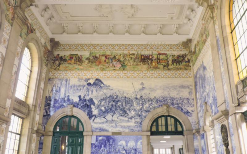 Estación de tren de Oporto
