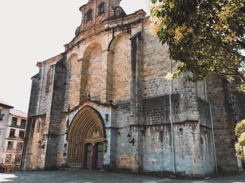 Iglesia en Gernika