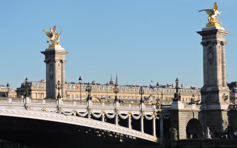 Puente Alexandre III París