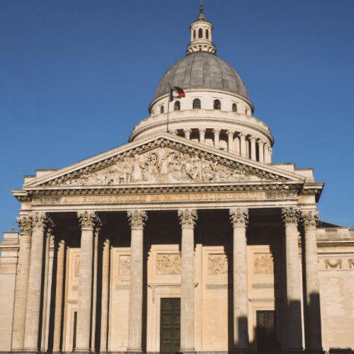 Edificio del Panteón de París