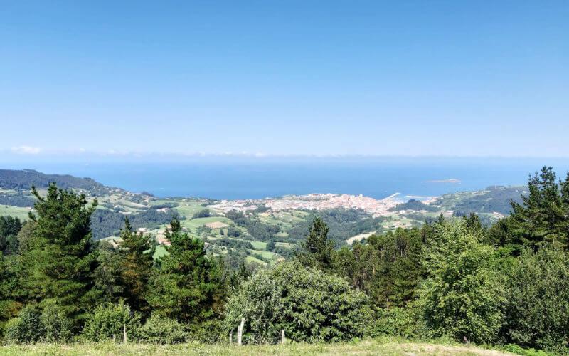 Vistas del pueblo de Vizcaya Bermeo