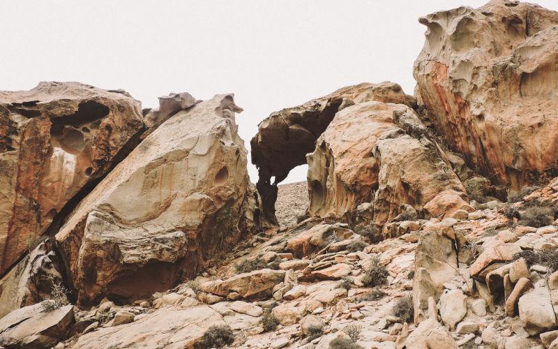Arco de las Peñitas en Fuerteventura